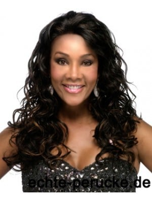 Indian Remy Full Lace Long Curly Black African Wigs