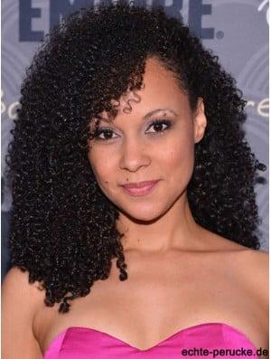 Style 14 inch Long Kinky Wigs For Black Women