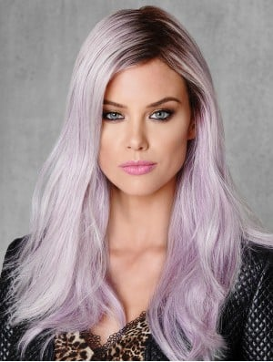 18 inch Ombre/2 Tone Capless Straight Without Bangs Young Fashion Wigs