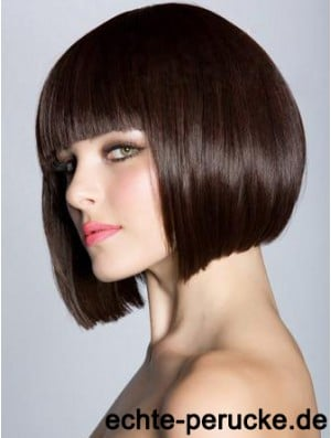 Bob Wigs For Women Chin Length Straight Style Bobs Cut