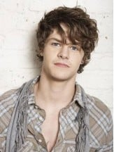 Synthetic Brown Capless Wavy Short Quality Mens Wigs