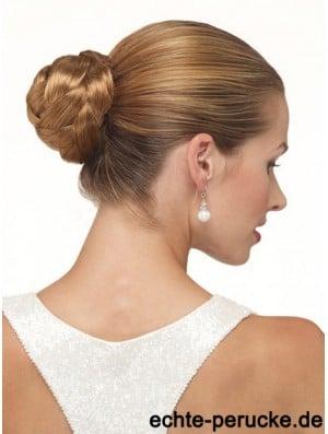 Brown Clip In Hair Buns