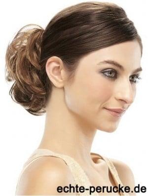 Brown Bun Hair Wrap